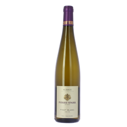 Pinot blanc  Sol Calcaire 75 cl